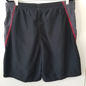 Speedo Men's Black Board Swim Shorts Size M